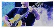 Gilmour Guitar By Nixo Bath Towel