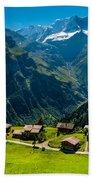 Gimmelwald In Swiss Alps - Switzerland Bath Towel