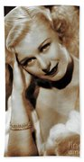 Ginger Rogers, Actress Hand Towel
