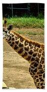 Giraffe 1 Bath Towel