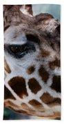 Giraffe Bath Towel