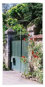 Giverny Gate Bath Towel