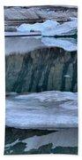 Glacier Iceberg Panorama Bath Towel