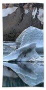 Glacier Iceberg Reflections Bath Towel