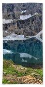 Glacier Icebergs Bath Towel