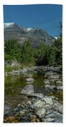 Glacier National Park-st Mary's River Bath Towel