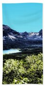 Glacier National Park Views Panorama No. 01 Bath Towel
