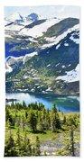 Glacier National Park2 Bath Towel