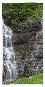 Glacier Waterfalls Bath Towel