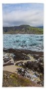 Glacier, Vatnajokull National Park, Iceland Bath Towel