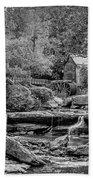 Glade Creek Grist Mill 3 Bw Bath Towel