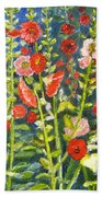 Gladiolus, 11x14, Oil, '07 Bath Towel