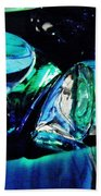 Glass Abstract 141 Bath Towel