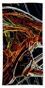 Glass Abstract Hand Towel