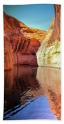 Glen Canyon Reflections Bath Towel
