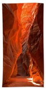 Glowing Walls Of Buckskin Gulch Bath Towel
