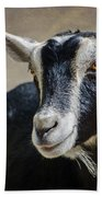Goat 2 Bath Towel