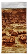 Goblin Valley Bath Towel