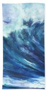 Goddess Of The Waves Bath Towel