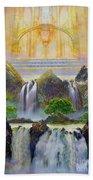 God's Holy Hill Bath Towel