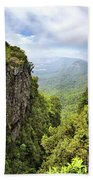 God's Window And The Blyde River Canyon Bath Towel