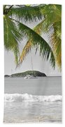 Going Green To Save Paradise Bath Towel