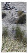 Gold Beach Oregon Beach Grass 15 Bath Towel
