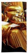Gold Buddha 5 Bath Towel