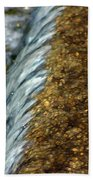 Gold Rush Abstract Bath Towel