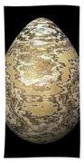 Gold-speckled Egg Bath Towel