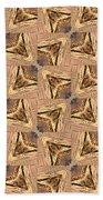Golden Arrowheads Bath Towel