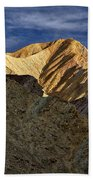 Golden Canyon View #2 - Death Valley Bath Towel