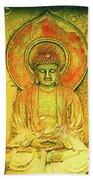 Golden Enlightenment Hand Towel