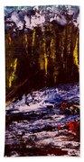 Golden Forest Bath Towel