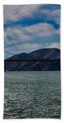 Golden Gate Bridge Panoramic Bath Towel
