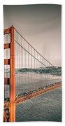Golden Gate Bridge Selective Color Bath Towel