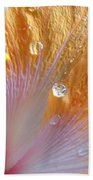 Golden Hibiscus Bath Towel
