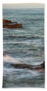 Golden Hour At Sunset Cliffs Bath Towel