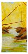 Golden Hour Bath Towel