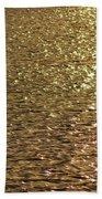 Golden Lake Bath Towel
