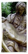 Golden Pieta Bath Towel