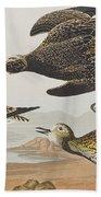 Golden Plover Bath Towel