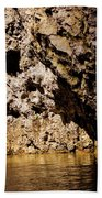 Golden Rocks Bath Towel