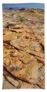 Golden Slopes Of Valley Of Fire State Park Bath Towel