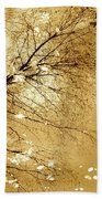 Golden Tones Bath Towel