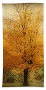 Golden Tree Bath Towel