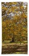 Golden Walnut Orchard II Bath Towel