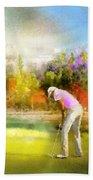 Golf Madrid Masters  02 Bath Towel