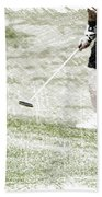 Golfing Putting The Ball 01 Pa Bath Towel