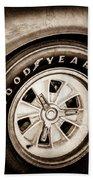 Goodyear Tire -0250s Bath Towel